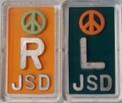 Plastic Peace Xray Markers