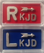 Basic Xray Markers with 2 Characters with arrows